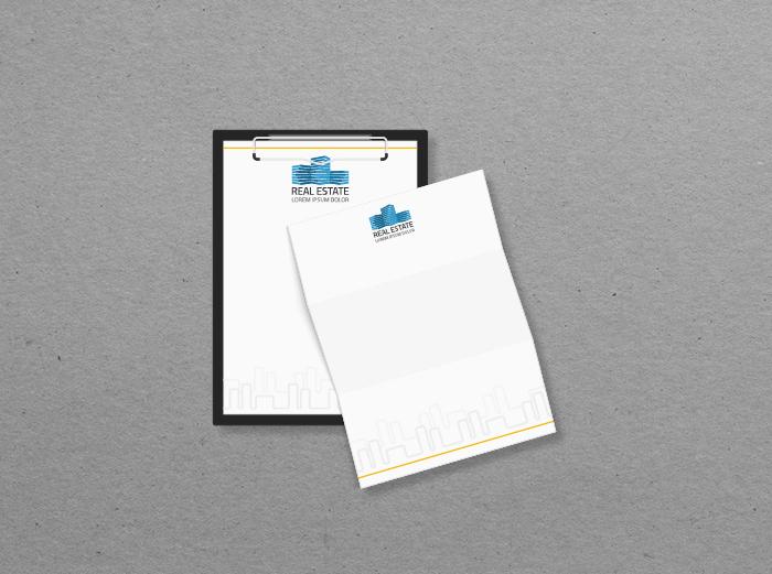 נייר מכתבים A4 - דף לבן - סטנדרטי