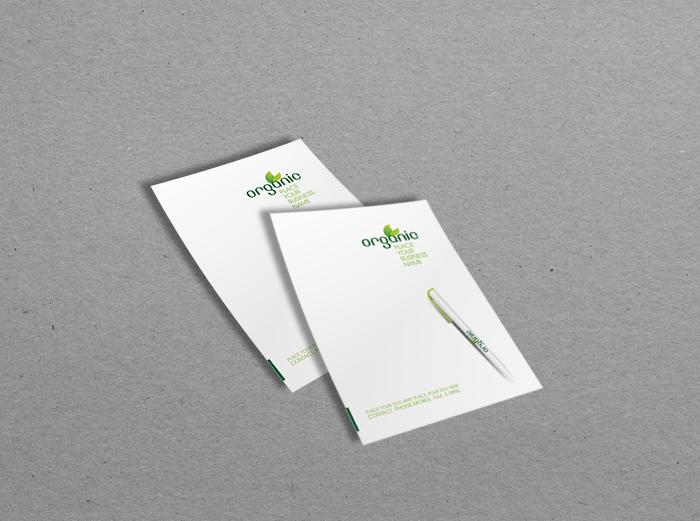 נייר מכתבים A6 - דף לבן - סטנדרטי