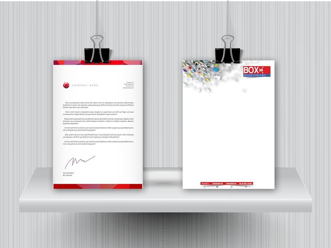 נייר מכתבים A5 - דף לבן - סטנדרטי