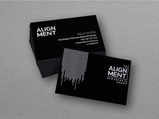 כרטיסי ביקור הדפסה על נייר שחור פחם