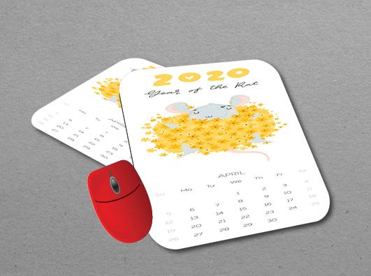 לוח שנה פד לעכבר