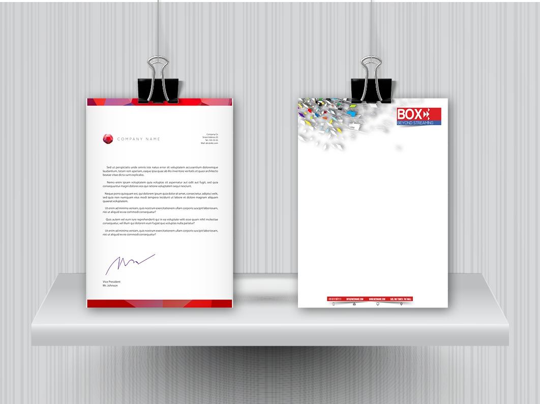 נייר מכתבים A5