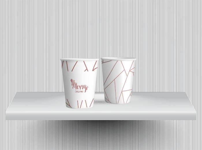 כוסות ממותגות 110 מ``ל