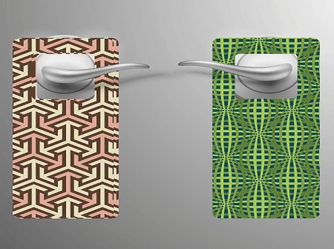 תלי דלת 30/10 – נייר כרומו משי 135 גרם